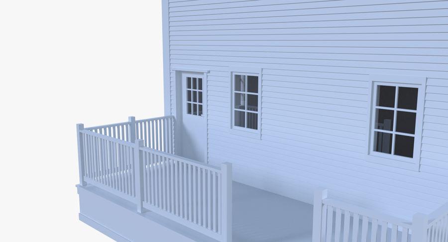 인테리어 하우스 5 royalty-free 3d model - Preview no. 7