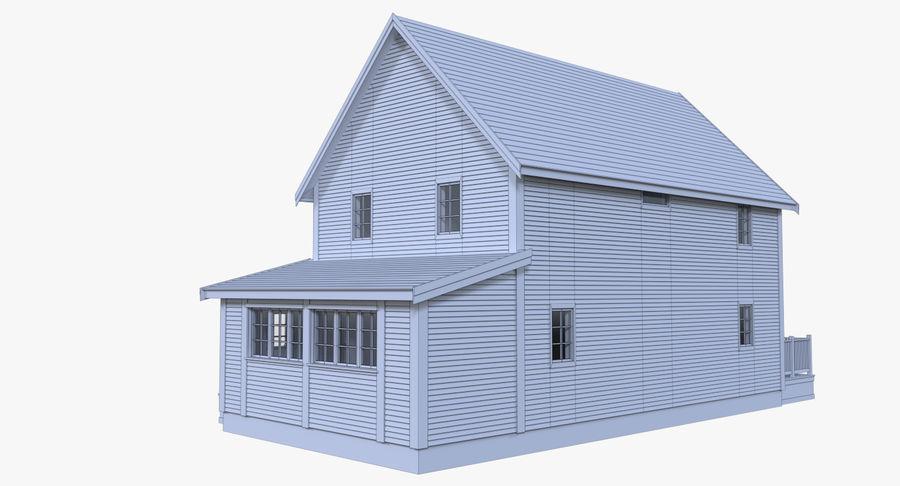 인테리어 하우스 5 royalty-free 3d model - Preview no. 14