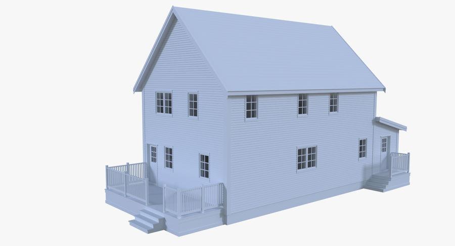 인테리어 하우스 5 royalty-free 3d model - Preview no. 4