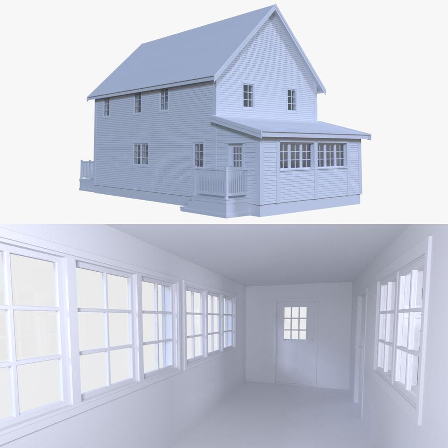 인테리어 하우스 5 royalty-free 3d model - Preview no. 1