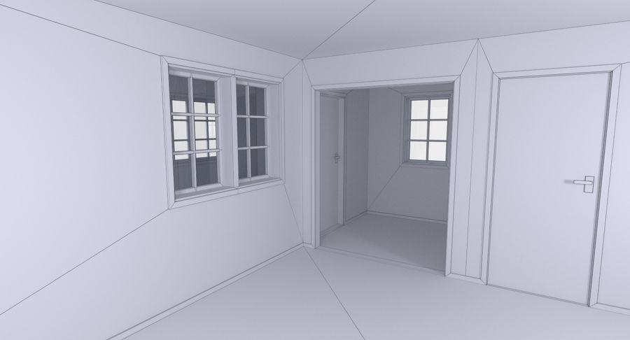 인테리어 하우스 5 royalty-free 3d model - Preview no. 21