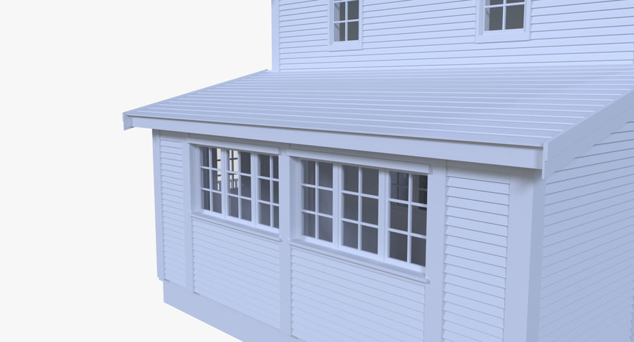 인테리어 하우스 5 royalty-free 3d model - Preview no. 6