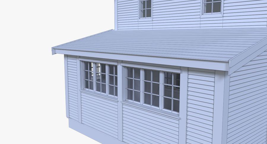 인테리어 하우스 5 royalty-free 3d model - Preview no. 18