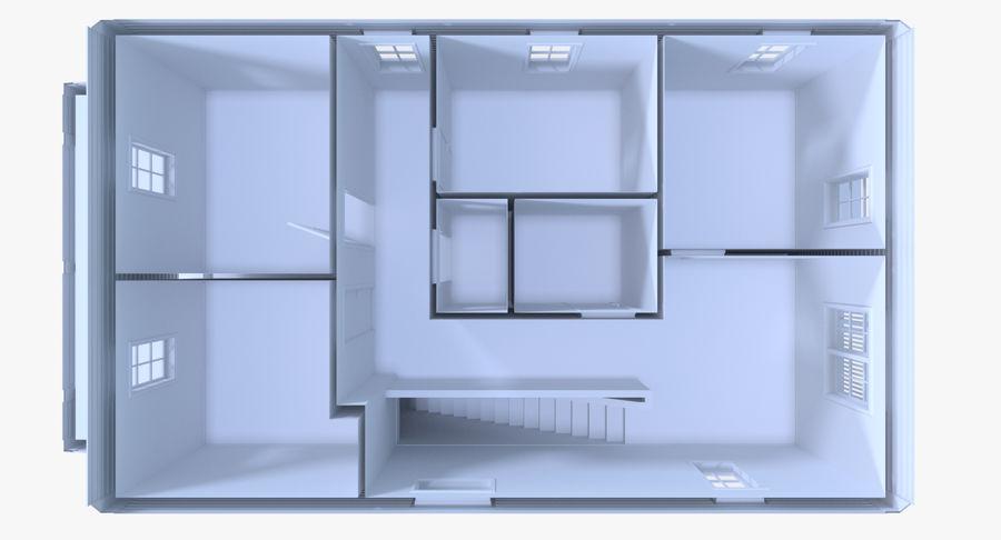 인테리어 하우스 5 royalty-free 3d model - Preview no. 12