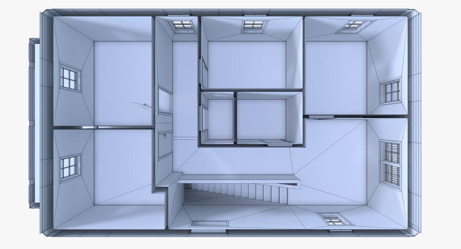 인테리어 하우스 5 royalty-free 3d model - Preview no. 24