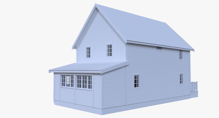 인테리어 하우스 5 royalty-free 3d model - Preview no. 2