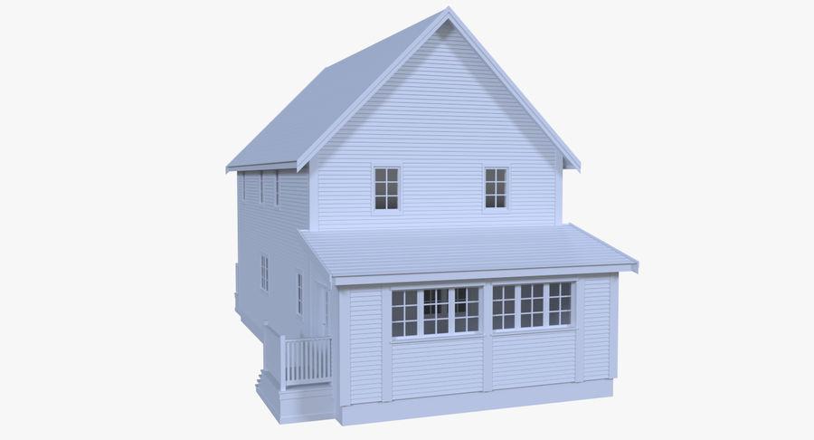 인테리어 하우스 5 royalty-free 3d model - Preview no. 5