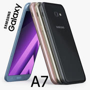 Samsung Galaxy A7 2017 3d model