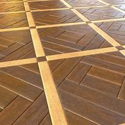 Wooden Planks Floor Parquet 3d model