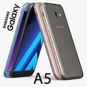 Samsung Galaxy A5 2017 3d model