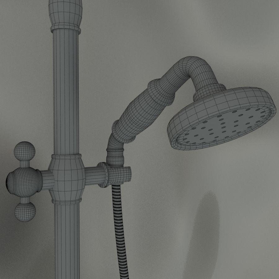 Duş başlığı royalty-free 3d model - Preview no. 10