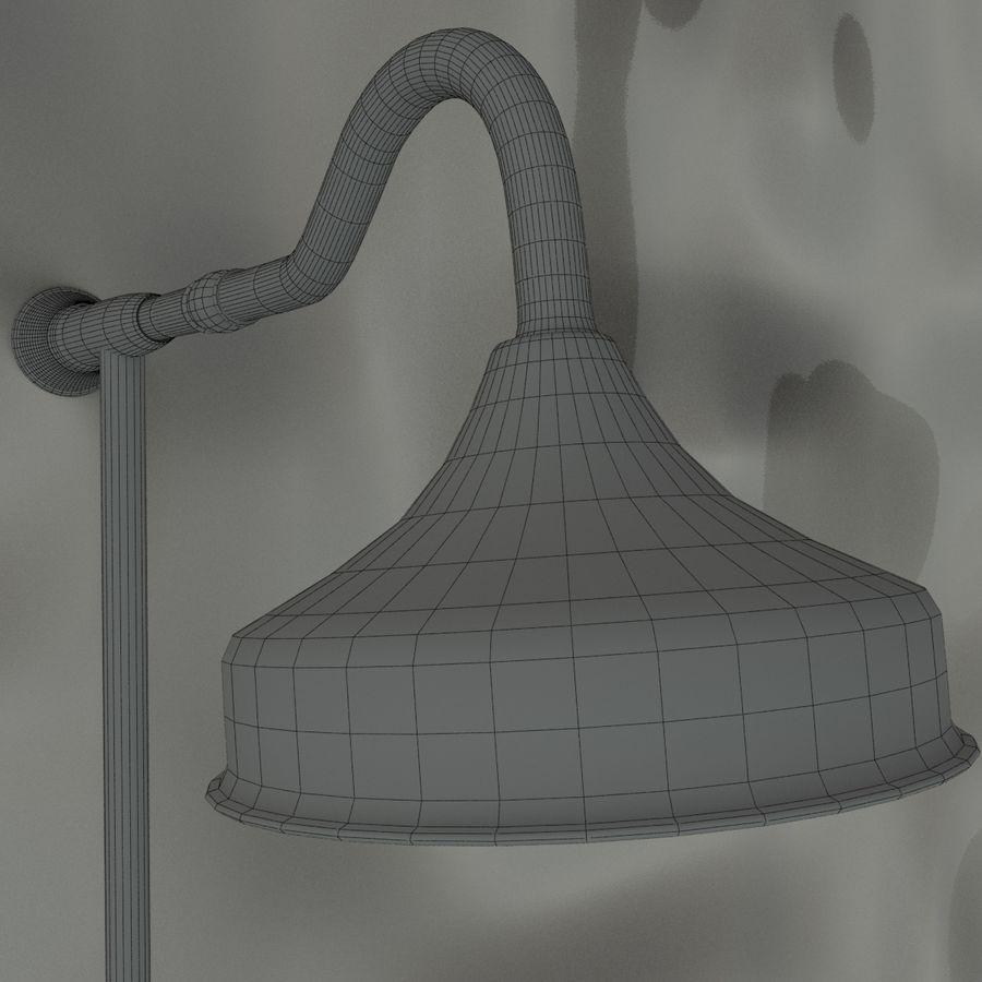 Duş başlığı royalty-free 3d model - Preview no. 11
