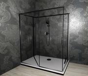 shower enclosure 3d model