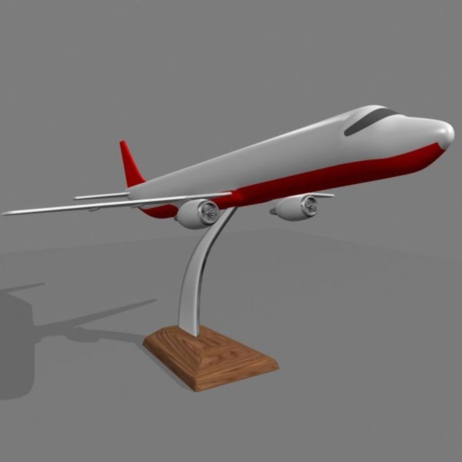 Samolot royalty-free 3d model - Preview no. 3
