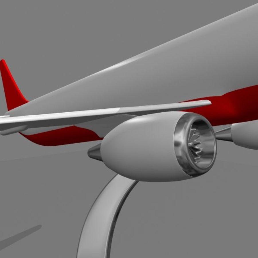 Samolot royalty-free 3d model - Preview no. 4