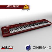 ベリンジャーUMX610 3d model