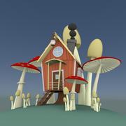 Masal evi 3d model
