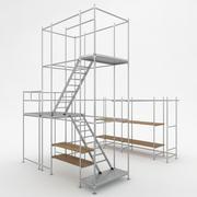 足場タワー 3d model