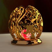 Chinese carving pattern 3d model