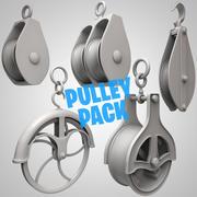 Pacco pulegge 3d model