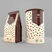 Coffee Pack 3d model