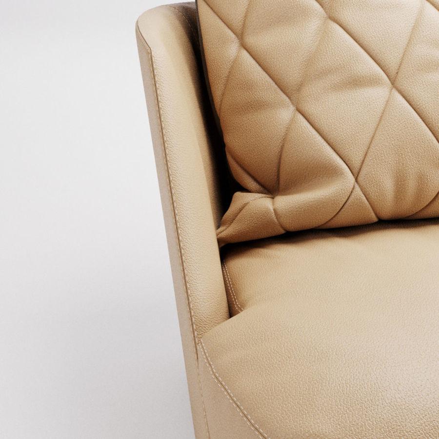 Canapé Alberta Grace royalty-free 3d model - Preview no. 6