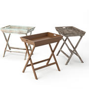 Ainsley Tray Table 3d model