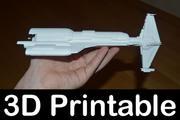 Gwiezdne Wojny KOTOR Hammerhead 3d model