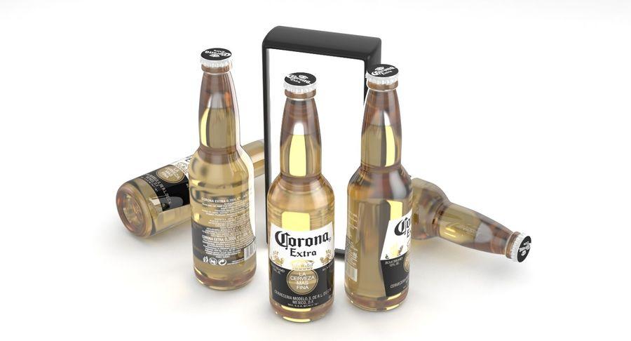 Butelka do piwa Corona Extra 355 ml royalty-free 3d model - Preview no. 2