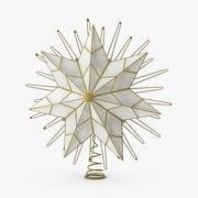 Star Tree Topper Light 3d model