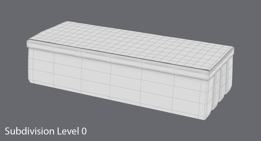 Gomma per lavagna 01 royalty-free 3d model - Preview no. 14
