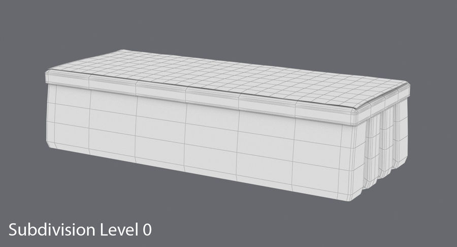 Gomma per lavagna 01 royalty-free 3d model - Preview no. 12