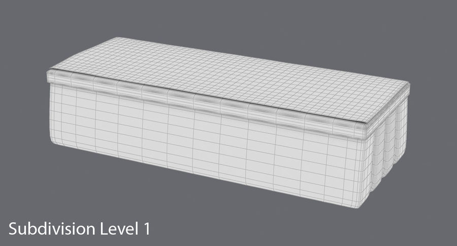 Gomma per lavagna 01 royalty-free 3d model - Preview no. 17
