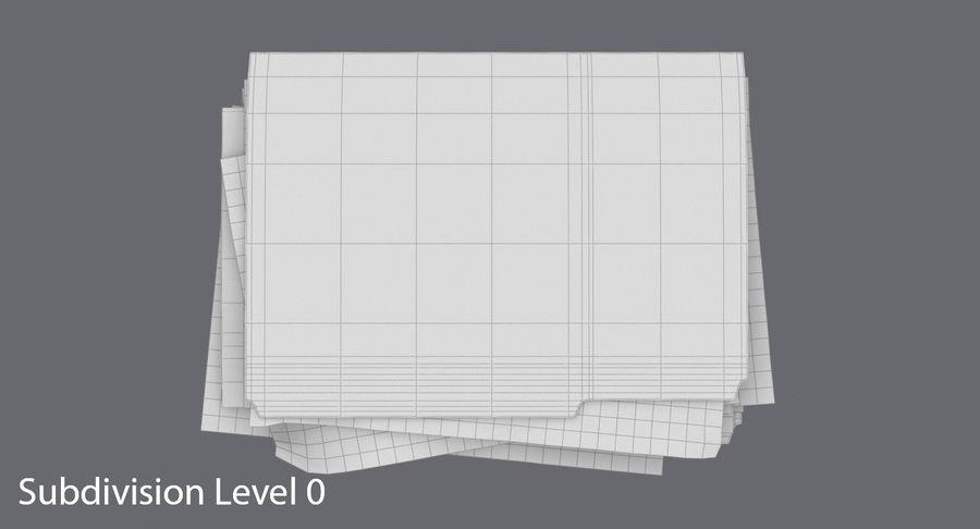 채워진 파일 폴더 royalty-free 3d model - Preview no. 13