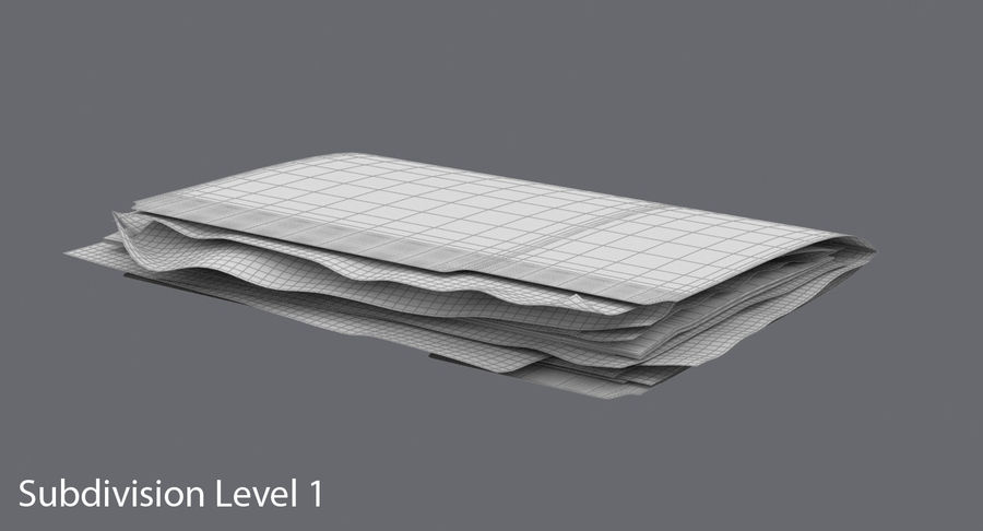 Cartella file ripieni royalty-free 3d model - Preview no. 15