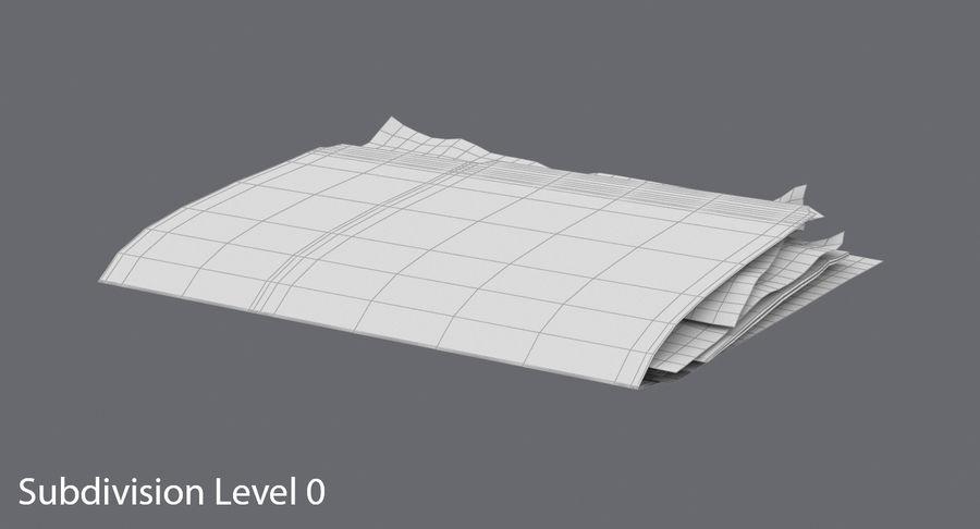 Cartella file ripieni royalty-free 3d model - Preview no. 14