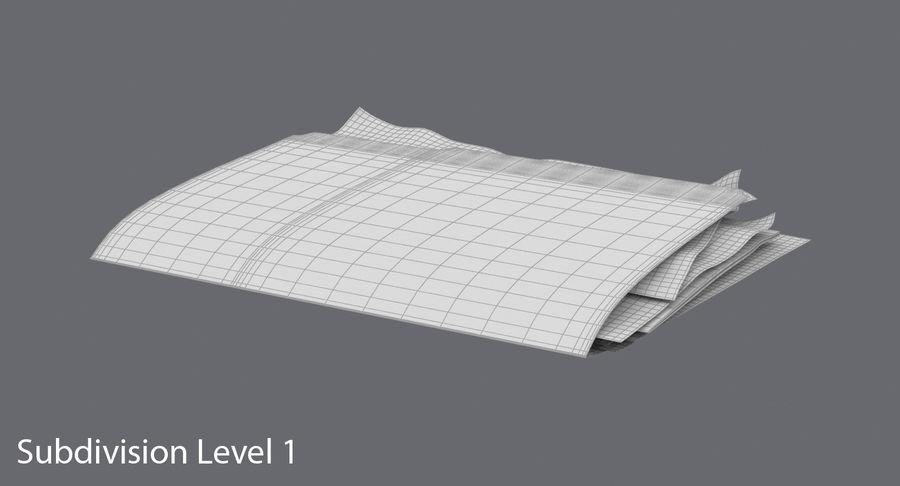 Cartella file ripieni royalty-free 3d model - Preview no. 17