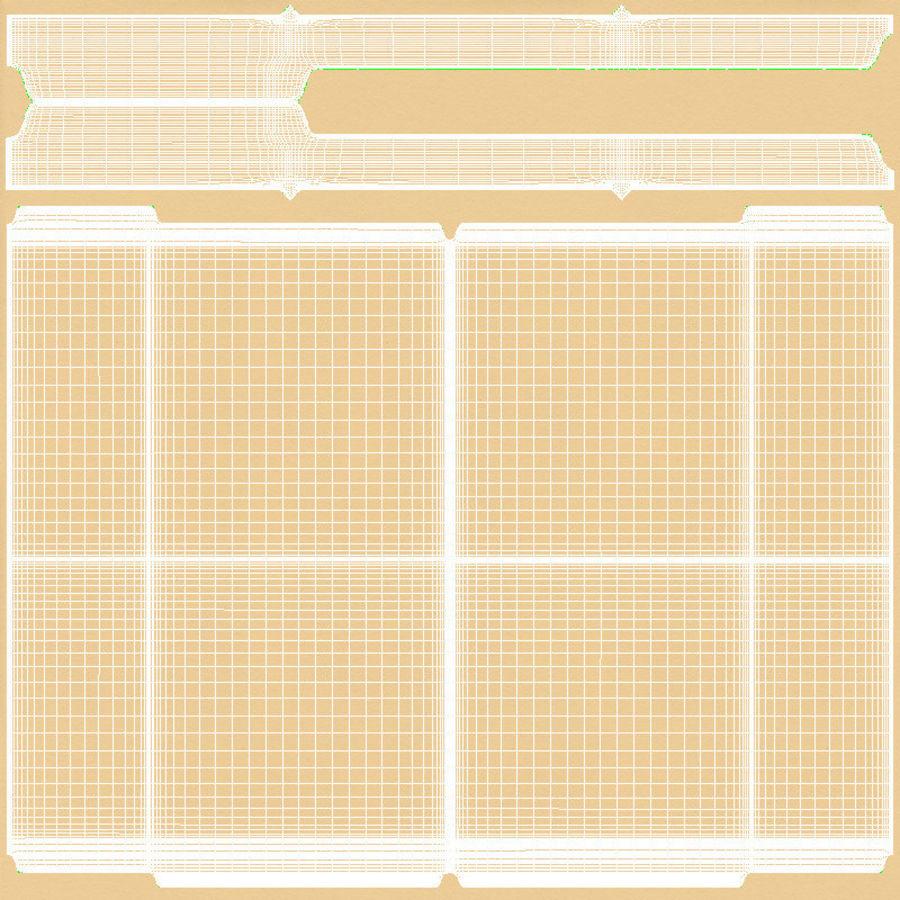 Cartella file ripieni royalty-free 3d model - Preview no. 18