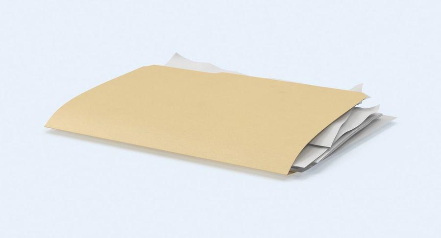 Cartella file ripieni royalty-free 3d model - Preview no. 6