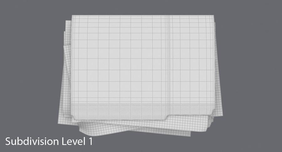 Cartella file ripieni royalty-free 3d model - Preview no. 16