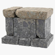 Altar do Rock 01 3d model