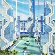 Sci Fi bölgesi 3d model