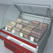 冻肉冷藏展示柜 3d model