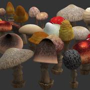 蘑菇 3d model