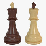 Chess Pieces - King 3d model