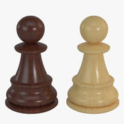 Chess Pieces - Pawn 3d model