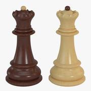 Chess Pieces - Queen 3d model