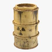 有毒废料桶02 3d model