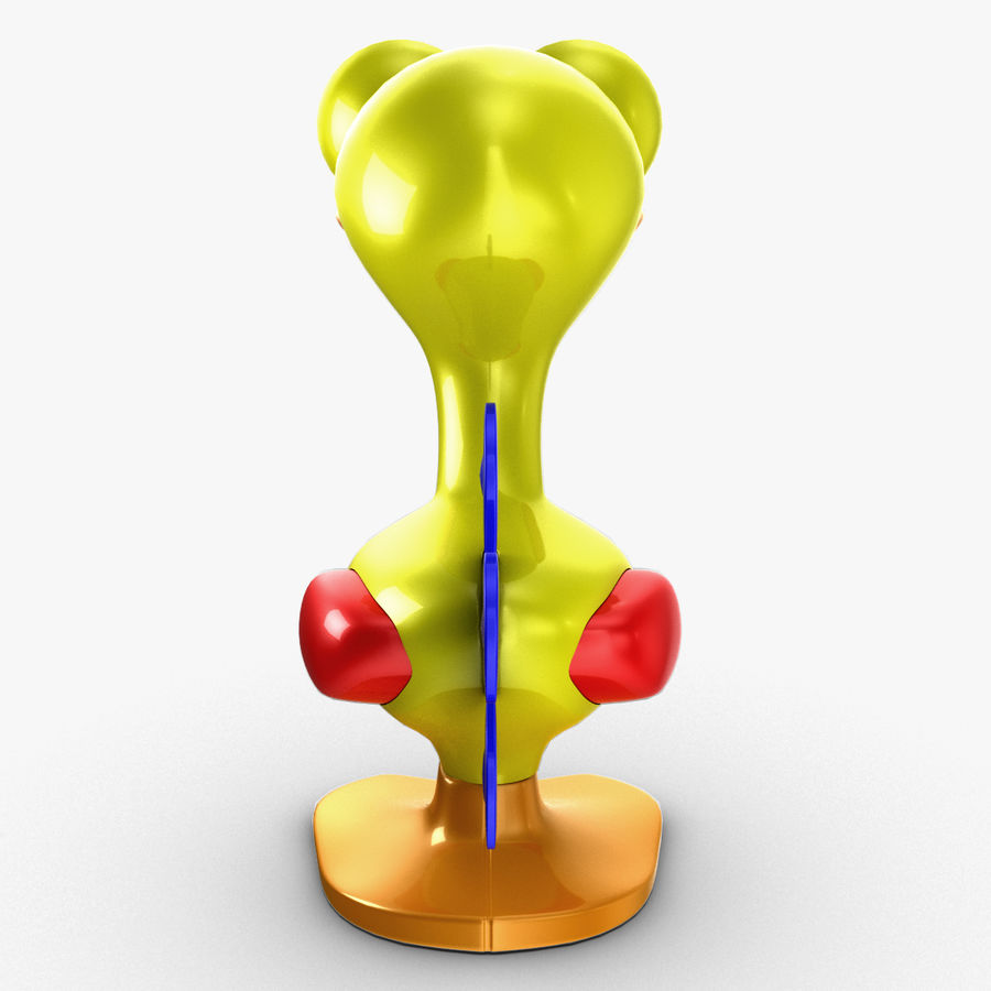 Tolo Toy Bird(1) royalty-free 3d model - Preview no. 11
