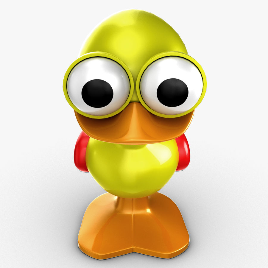 Tolo Toy Bird(1) royalty-free 3d model - Preview no. 10